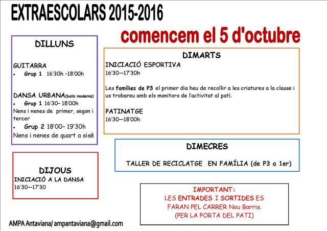 cartell inici extraescolars 15-6